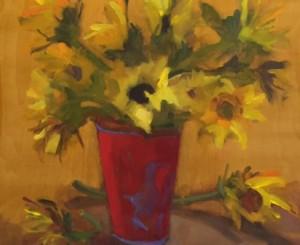 doris-pelzman_sunflowers-in-sand-pail